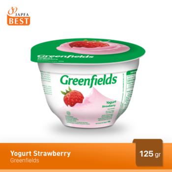 Greenfields Yogurt Strawberry 125 g harga terbaik