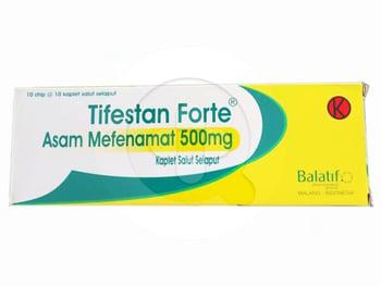 Asam Mefenamat Balatif Kaplet 500 mg (1 Strip @ 10 Kaplet)