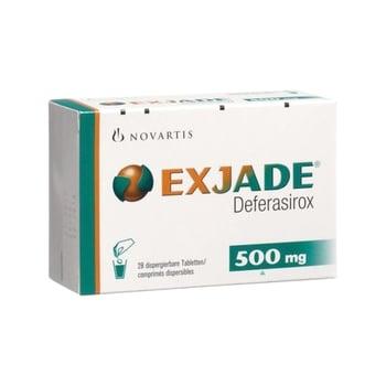 Exjade tablet adalah obat untuk mengatasi kelebihan zat besi kronis akibat transfusi darah