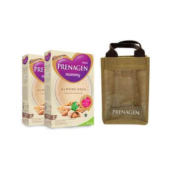 Prenagen Almond Soya Powder 200 g Buy 2 - Free Tas Cantik Prenagen harga terbaik 91000