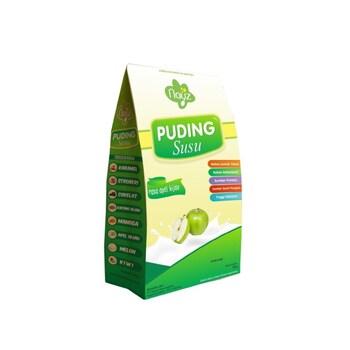 Nayz Puding Susu Rasa Apel Hijau 200 g