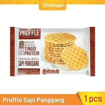 Prosana Proffle High Protein Waffle Sapi Panggang 60 g harga terbaik
