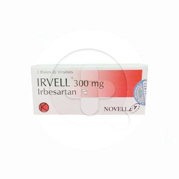Irvell Tablet adalah obat untuk terapi untuk tekanan darah tinggi (hipertensi).