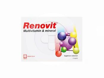 Renovit Kaplet (1 Strip @ 4 Kaplet)