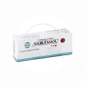 Salbutamol tablet adalah obat untuk mengatasi asma, bronkitis, dan emfisema