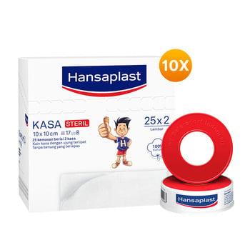 Hansaplast Kasa Steril - 10 x 10 cm Best Value harga terbaik