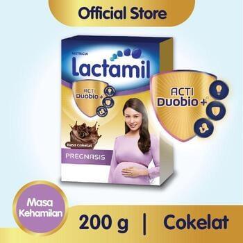 Lactamil Pregnasis Minuman Ibu Hamil Coklat 200 g harga terbaik