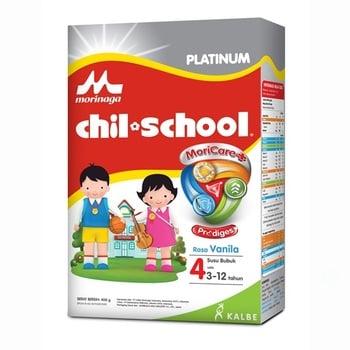 Morinaga Chil School Platinum Moricare+ Vanilla 400