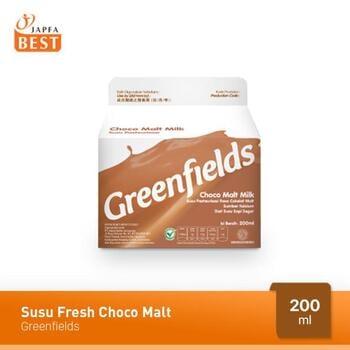 Greenfields Susu Fresh Choco Malt 200 ml harga terbaik