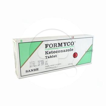 Formyco tablet 200 mg untuk pengobatan infeksi jamur pada kulit, rambut, dan mukosa.