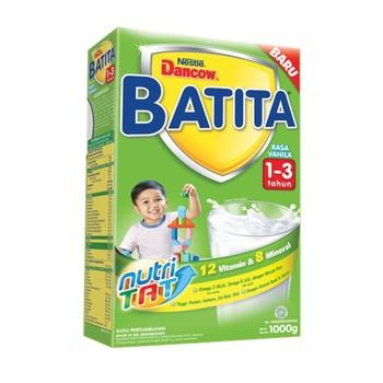 Dancow Batita Usia 1-3 Tahun Rasa Vanilla 1000 g harga terbaik