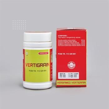 Herbamed Vertigrain Kapsul  harga terbaik 95000