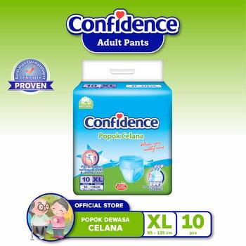 Confidence Popok Celana XL 10 harga terbaik 136500