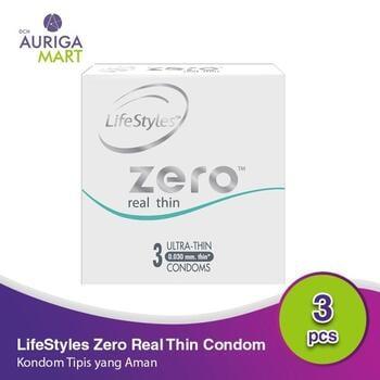 LifeStyle Zero Real Thin - Long Lasting Kondom  harga terbaik 35900
