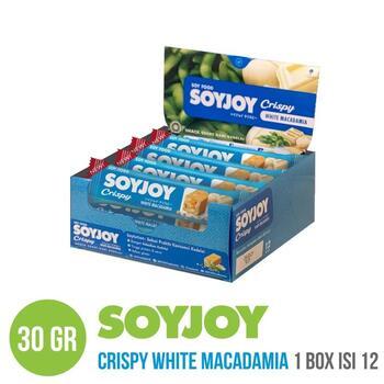 Soyjoy Crispy White Macadamia 30 g (1 Box @ 12 Pcs)