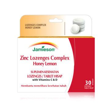Jamieson Zinc Lozenges Complex tablet adalah suplemen untuk meningkatkan kekebalan tubuh