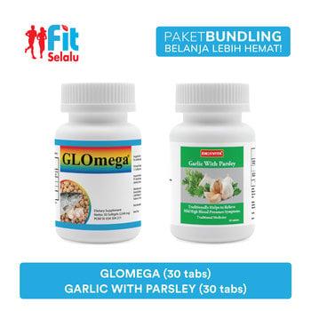 Paket LifePharm Glomega 30 Softgel & Enervita Garlic With Parsley 30 Tablet harga terbaik 203400