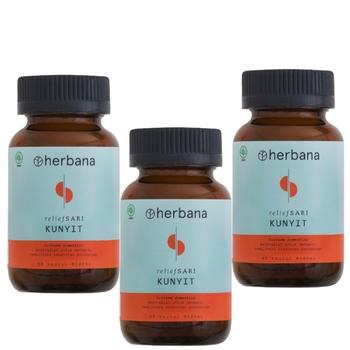 Herbana Relief Sari Kunyit - 60 Kapsul  harga terbaik 375000