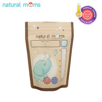 Natural Moms Kantong ASI 120 ml - Thermal Sensor - Harmony  harga terbaik 47000