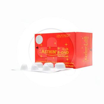 Asthin B-OND kapsul adalah suplemen untuk menjaga kesehatan dan mengurangi risiko radikal bebas