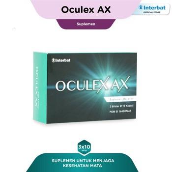 Oculex AX Kapsul (3 Strip @ 10 Kapsul)