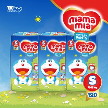 Popok bayi terbaik Mamamia Popok Bayi Tipe Celana S120