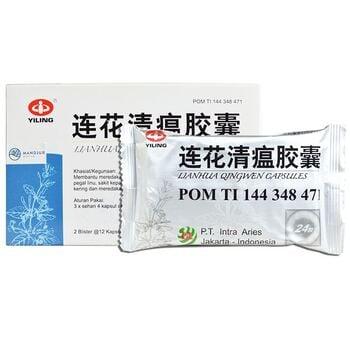 Lianhua Qingwen Kapsul  harga terbaik 62500
