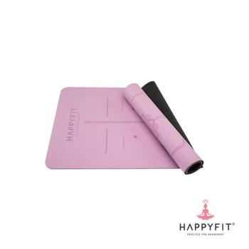 Happyfit Yogamat Premium PU - Purple harga terbaik 799000