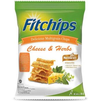 Fitchips Cheese Herbs 60 g harga terbaik