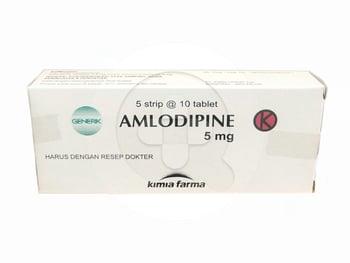 Amlodipine Kimia Farma Tablet 5 mg  harga terbaik 10007