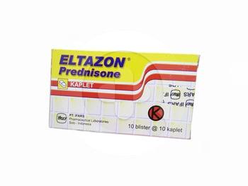 Eltazon kablet adalah obat untuk mengatasi alergi, peradangan, dan menekan kekebalan tubuh.