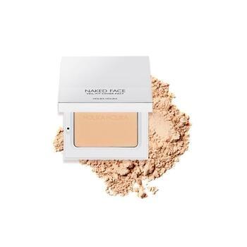 Holika Holika Naked Face Veil-Fit Cover Pact 02 - Natural Beige harga terbaik 298000