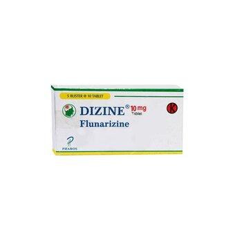 Dizine tablet adalah obat untuk mengatasi sakit kepala sebelah (migrain) dan gangguan sistem saraf.