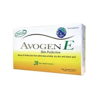 Avogen E kapsul adalah suplemen untuk membantu memelihara kesehatan kulit