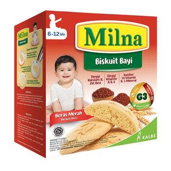MIlna Baby Biscuit Beras Merah 130 g