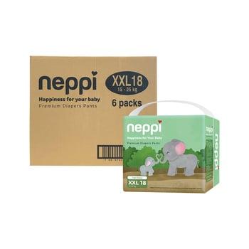 Neppi Premium Baby Diaper Pants XXL 18 - Karton  harga terbaik 393300