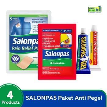 Salonpas Paket Anti Pegel harga terbaik 79900