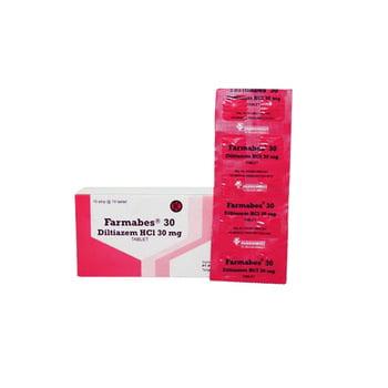 Farmabes tablet adalah obat yang digunakan untuk mengatasi angina pektoris, hipertensi, dan aritmia.