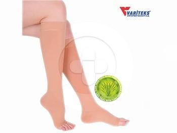 Variteks - Varicose Stocking Knee High Open Toe CCL 2  harga terbaik 410000