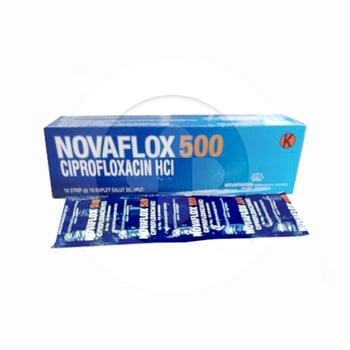 Novaflox kaplet adalah obat yang digunakan untuk mengatasi berbagai infeksi akibat bakteri