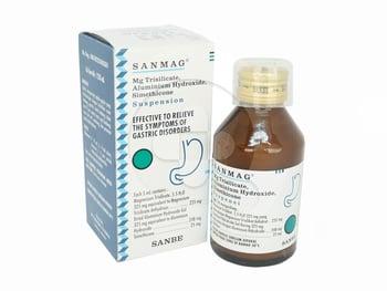 Sanmag suspensi adalah obat untuk mengurangi gejala yang terjadi karena kelebihan asam lambung