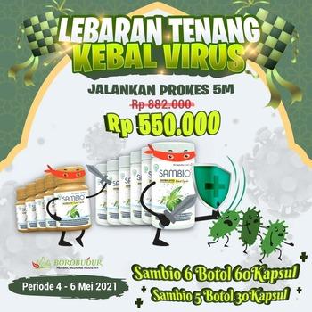 Paket Lebaran Tenang - Sambio Kapsul harga terbaik