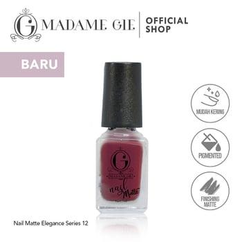 Madame Gie Nail Matte 12 Patience harga terbaik 7200