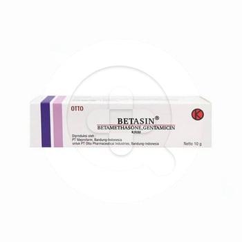 Betasin krim adalah obat yang digunakan untuk mengatasi peradangan kulit