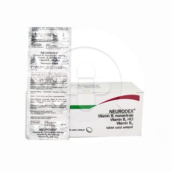 Neurodex tablet adalah obat untuk mengatasi gangguan saraf dan menjaga kebutuhan vitamin B