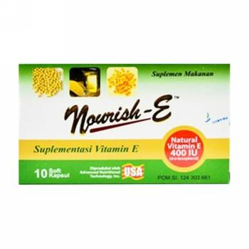 Nourish-E 400 Kapsul IU  harga terbaik