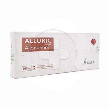 Alluric Tablet 300 mg  harga terbaik