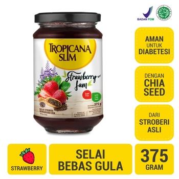 Tropicana Slim Strawberry Jam 375 g harga terbaik 79200