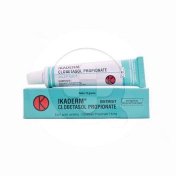 Ikaderm salep adalah obat untuk mengatasi kondisi alergi pada kulit seperti eksim dan ruam kulit.
