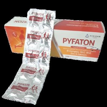 Pyfaton kaplet adalah suplemen untuk memenuhi kebutuhan vitamin dan mineral zinc